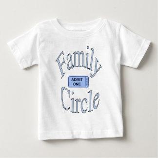 Garçon de cercle de famille tshirt