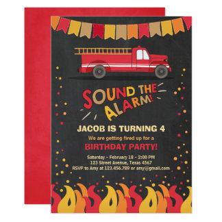 Garçon d'invitation d'anniversaire de carton d'invitation  12,7 cm x 17,78 cm