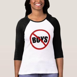 Garçon n'a pas permis la chemise des femmes t-shirt