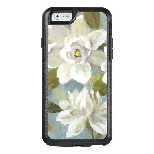 Gardenias auf Schiefer-Blau OtterBox iPhone 6/6s Hülle