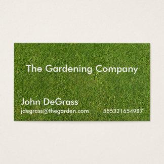 Gardening Services Visitenkarte