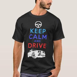 Gardez le calme et conduisez - le M3 T-shirt