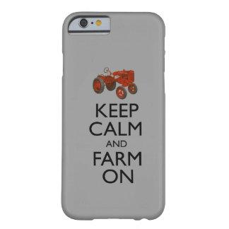 Gardez le calme et cultivez dessus coque iPhone 6 barely there