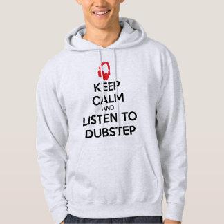 Gardez le calme et écoutez Dubstep Sweats À Capuche