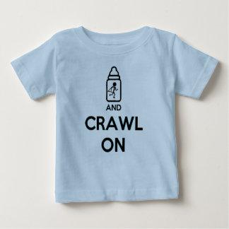 Gardez le calme et rampez dessus - B jumeau T-shirt