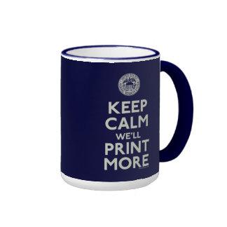 Gardez le calme que nous imprimerons plus de tasse