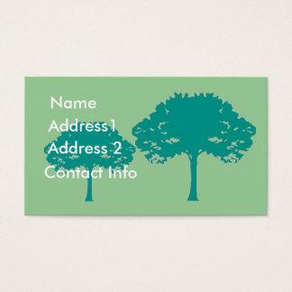 Gardner, Landschaftsgestalter-Visitenkarte Visitenkarte