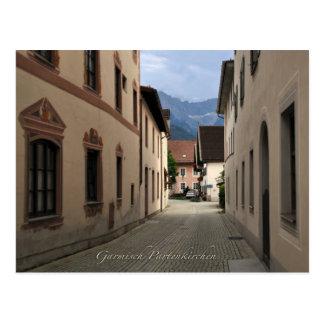 Garmisch-Partenkirchenpostkarte Postkarten