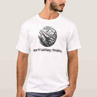Garn-Ausüben von Trollop T-Shirt