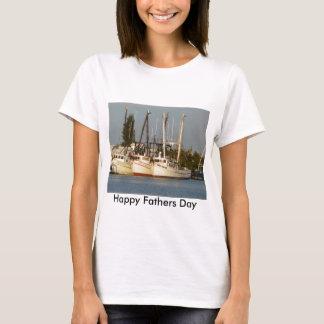 Garnele-Boote x drei T-Shirt