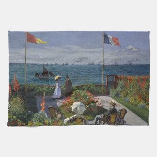 Garten bei Sainte-Adresse durch Claude Monet Küchentuch