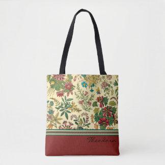 Garten-Blumen-Entwurf Tasche