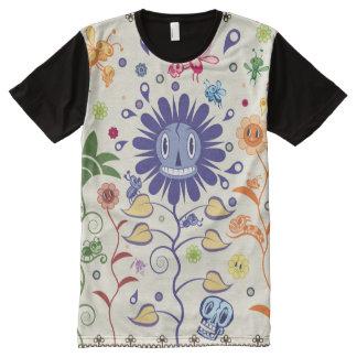 Garten der Schmiere T-Shirt Mit Komplett Bedruckbarer Vorderseite