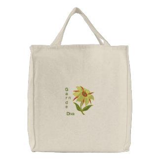 Garten-Diva - gelbe Blume Tasche