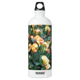 GARTEN Glück: Blumen-goldener gelber Charme SPASS Aluminiumwasserflasche