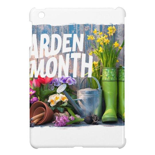 Garten-Monat iPad Mini Hülle