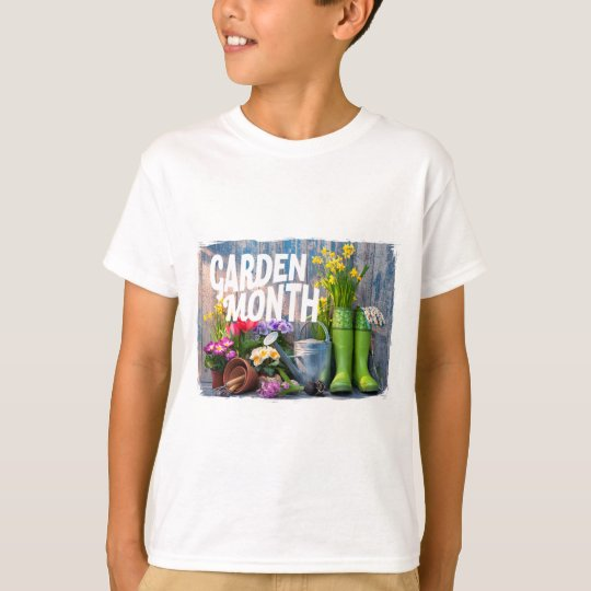 Garten-Monat T-Shirt