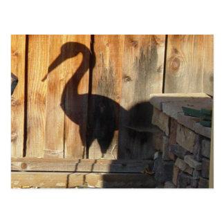 Garten-Tier-Postkarte Postkarte