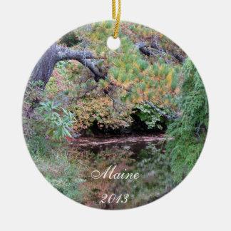 Garten-Verzierung Maines Aezalia - Jahr 2013 Rundes Keramik Ornament
