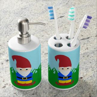 GartenGnome Seifenspender & Zahnbürstenhalter