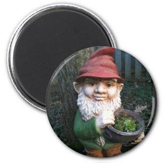 GartenGnomes Runder Magnet 5,1 Cm