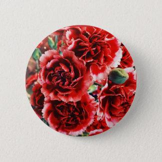 Gartennelken-Blumenknopf Runder Button 5,1 Cm