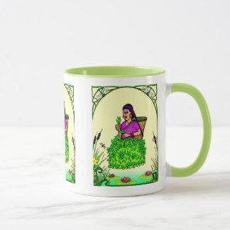 Gärtner-Freude, bauen wir Tee an! Tasse