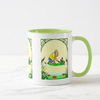 Gärtner-Freude, Grandad im Garten Tasse
