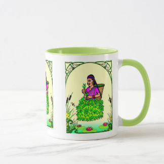 Gärtner-Freude, im Teegarten Tasse