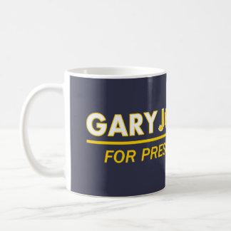 Gary Johnson für Präsidenten Tasse 2016