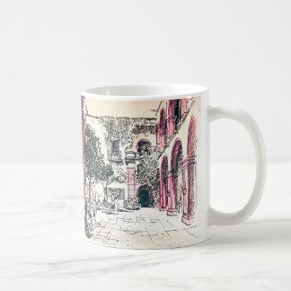 Gasse zerteilt Kaffee San Miguel Allende Von Tasse