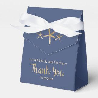 Gastgeschenk Hochzeits-Kasten - danke, Strand, Geschenkschachtel
