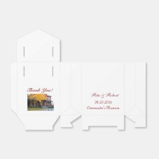 Gastgeschenk Hochzeits-Kasten-Ort Geschenkkarton