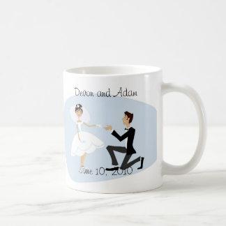 Gastgeschenk Hochzeits-Tasse Tasse