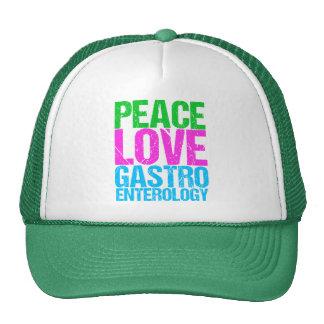 Gastroentérologie d'amour de paix casquette trucker