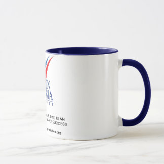 GAT Wecker-Tassen (Marine-Blau-Griff 15 Unze) Tasse