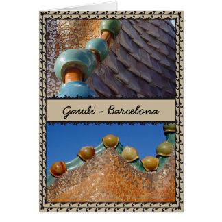 Gaudi Barcelona Karte
