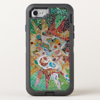 Gaudi Mosaik OtterBox Defender iPhone 8/7 Hülle