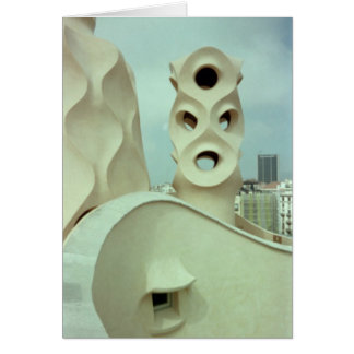 Gaudi Skulptur (freier Raum) Karte
