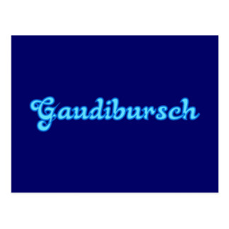 Gaudibursch Bayern bayrisch bayerisch Bavaria Postkarten