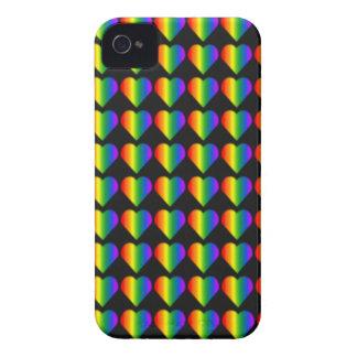 Gay Pride-BlackBerry-Kasten-Regenbogen-Liebe-Fall Case-Mate iPhone 4 Hülle