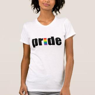 Gay Pride-Damen-Behälter-Spitze (angepasst) T-Shirt