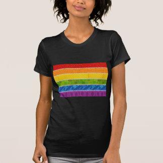 Gay Pride-Farben T-Shirt