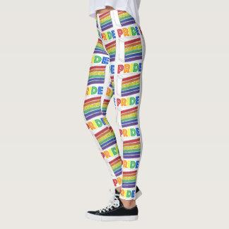 Gay Pride-Parade-Regenbogen der Leggings