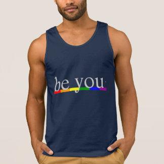 Gay Pride-Regenbogen-Flagge ist Sie Tank Top