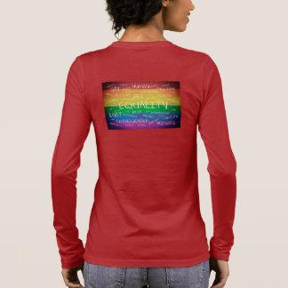 Gay Pride und Unterstützung Langarm T-Shirt