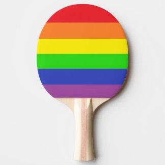 Gay PridePing Pong Paddel Tischtennis Schläger