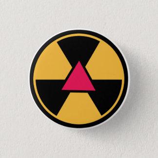 Gaydioactive Runder Button 3,2 Cm