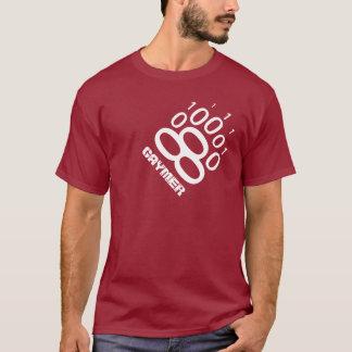 Gaymer binäre Bärenpranke (weiß) T-Shirt
