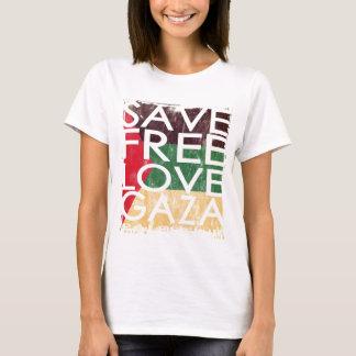 GAZA 2014 RETTEN FREI LIEBE T-Shirt